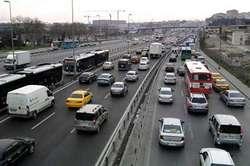 ترافیک صبحگاهی در آزاد راه های استان زنجان