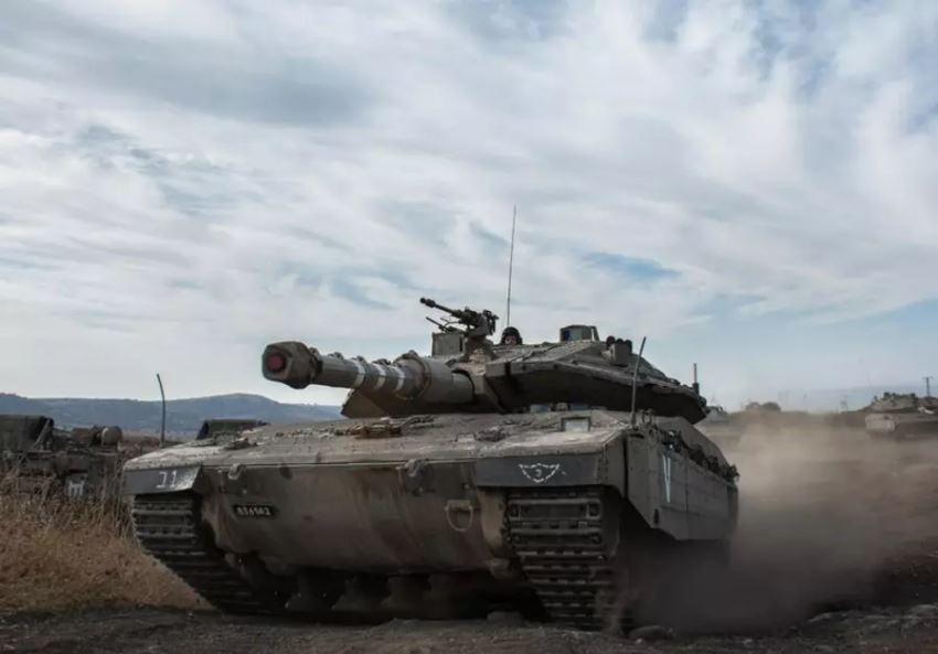 اهدای یک فروند تانک رژیم صهیونیستی به پادشاه اردن