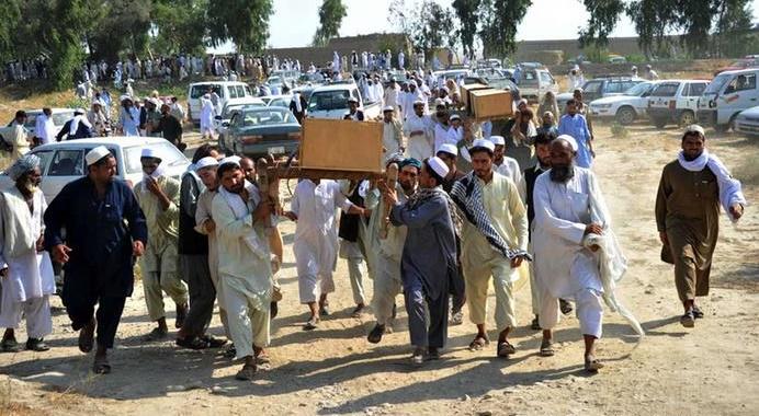 22 غیر نظامی در حمله هوایی ارتش افغانستان در پکتیا جان باختند