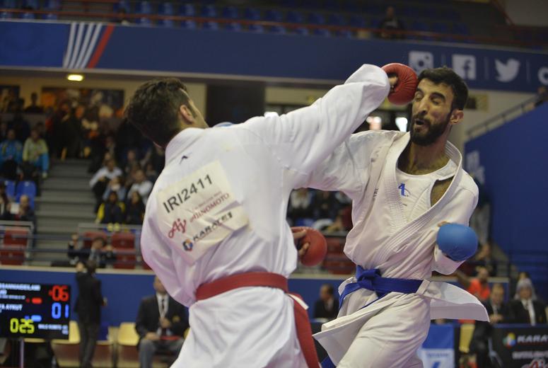 کاراته کاهای ایران برای کسب ۴ طلا و ۸ برنز میجنگند