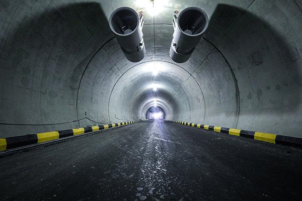 تکمیل دومین خروجی اضطراری تونل آرش-اسفندیار در مردادماه