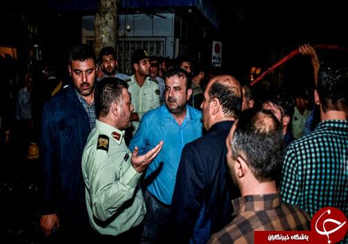 حضور موثر پلیس در حادثه مسجد جامع ساری + تصاویر