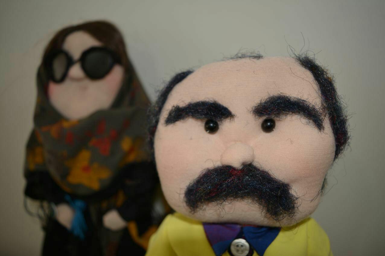 «ننهها» علیه باربی/ کوکبخانم به خانه ایرانیها میرود/عروسکسازی که میخواهد شخصیتهای پارچهای اش را جهانی کند