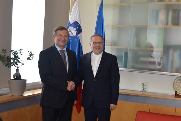 تأکید وزیر خارجه اسلوونی بر حمایت کشورش از برجام