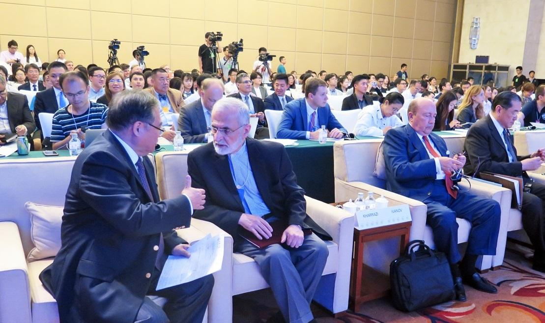 همایش جهانی صلح در پکن با حضور نمایندگانی از ایران آغاز به کار کرد