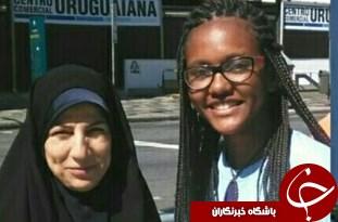 با اقتدا به حضرت زینب (س) مروج فرهنگ حجاب در مسابقات بینالمللی بودم