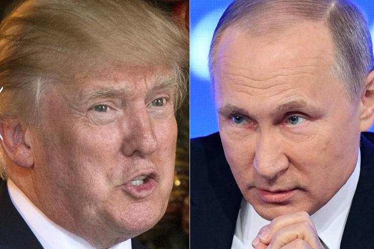 پوتین با چهره ای جدید ترامپ را ملاقات می کند+تصاویر//////فوری