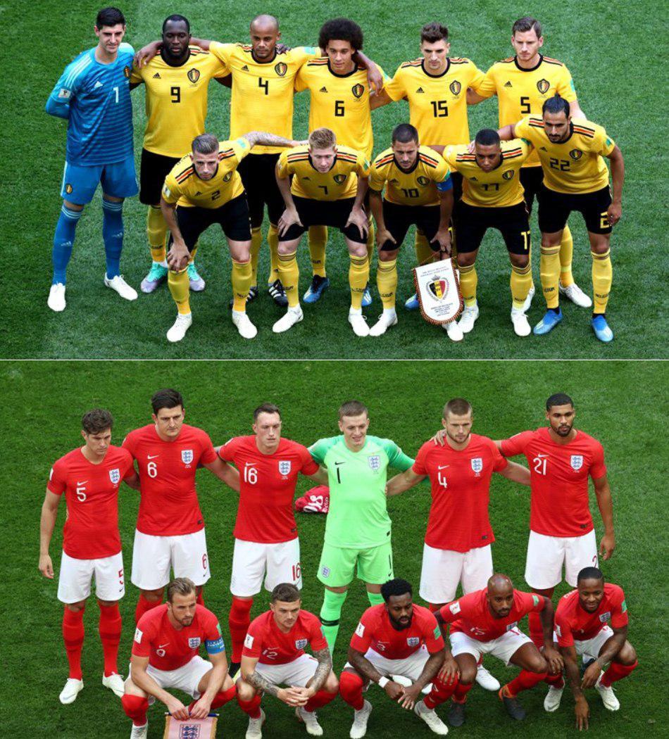 گزارش لحظه به لحظه/ بلژیک یک - انگلیس صفر