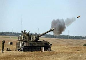 حمله تانکهای ارتش صهیونیستیت به نوار غزه