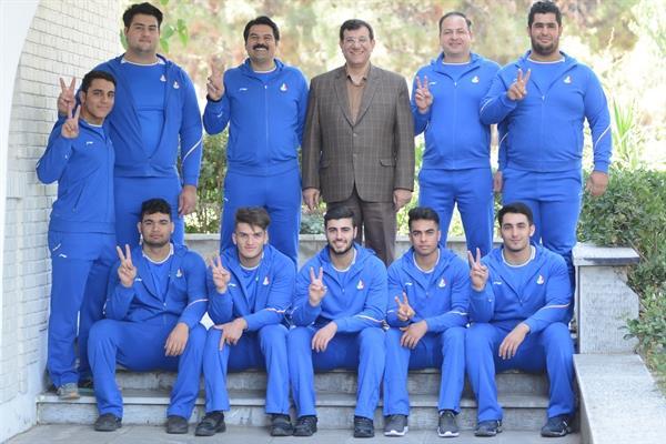 پیام تبریک کمیته ملی المپیک به پولادمردان وزنه برداری