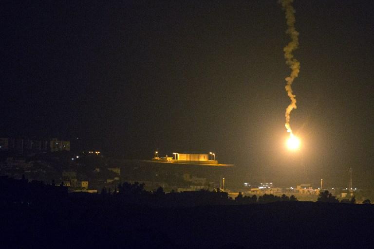 گنبد آهنین اسیر حملات موشکی فلسطینیان شد