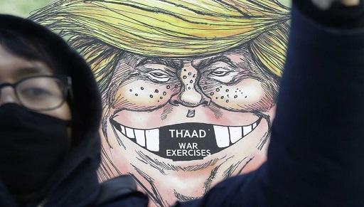 کاریکاتورهای ترامپ در نقاط مختلف جهان