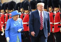 ترامپ جزئیات مکالمه خصوصیاش با ملکه انگلیس را فاش کرد!
