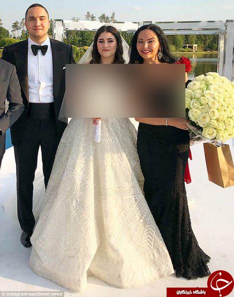 ازدواج جنجالی دختر میلیارد که با پیشخدمت اشتباه گرفته شد! +تصاویر