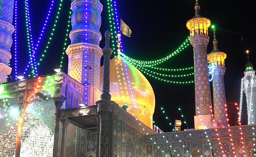 برگزاری جشن های دهه کرامت در حرم حضرت معصومه (س)
