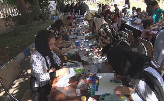 باشگاه خبرنگاران - اولین دوره مسابقات فرهنگی، هنری سازمان تأمین اجتماعی در شهرستان  مهاباد