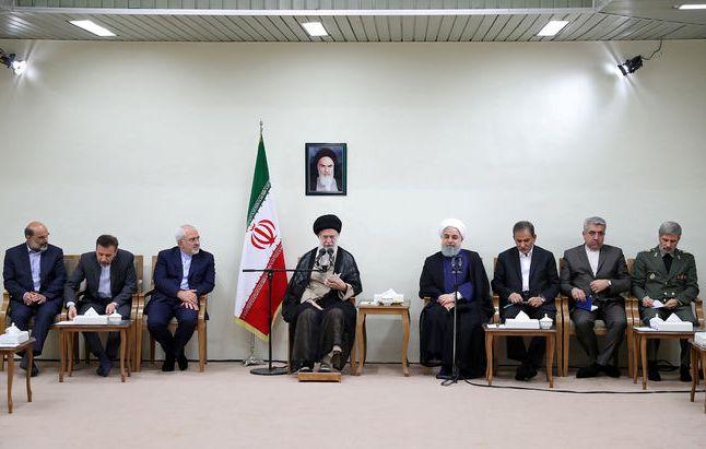 رئیسجمهور و اعضای هیئت دولت با رهبر معظم انقلاب دیدار کردند