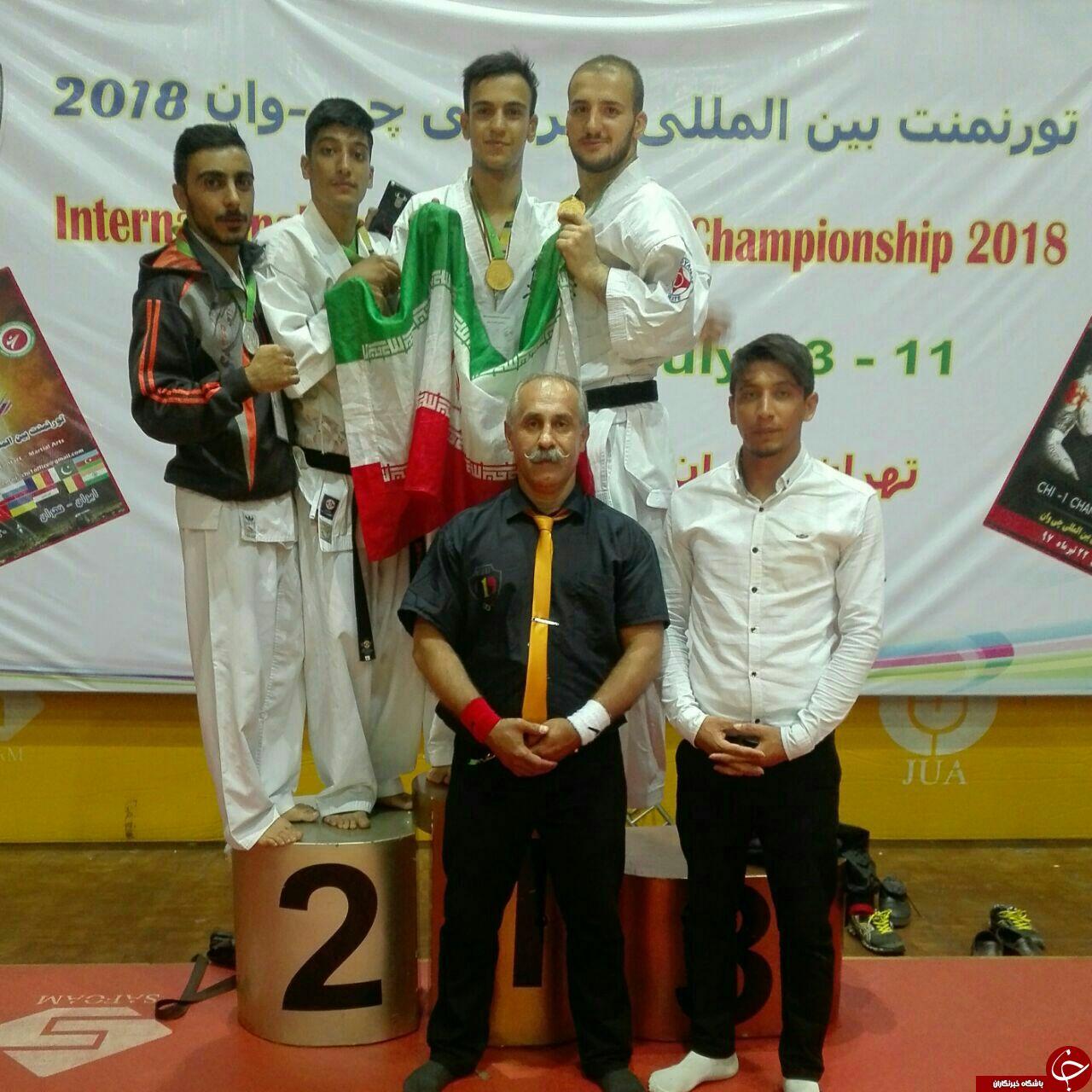 4مدال رقابت های بین المللی به کاراته های کرمانشاهی رسید