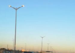 هدررفت انرژی برق در اتوبان کرج - تهران + فیلم
