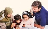 گوش دادن صمیمانه به حرفهای فرزندان یک راه برای ابراز محبت به آنهاست