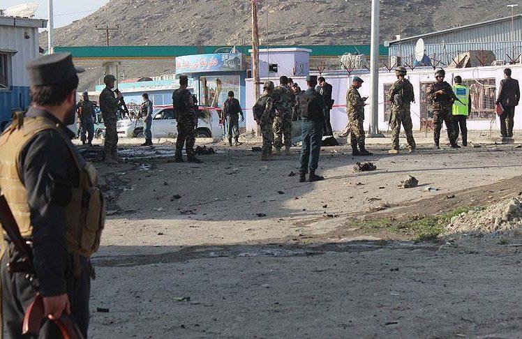 حمله به قرارگاه نیروهای مرزی ننگرهار با موتر بمب گذاری شده