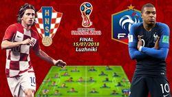 فرانسه ۴ - کرواسی ۲/خروسها برای دومین بار فاتح جام جهانی شدند +فیلم