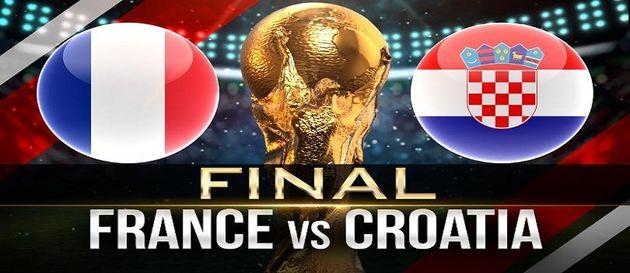 ترکیب تیمهای ملی فرانسه - کرواسی در جام جهانی ۲۰۱۸
