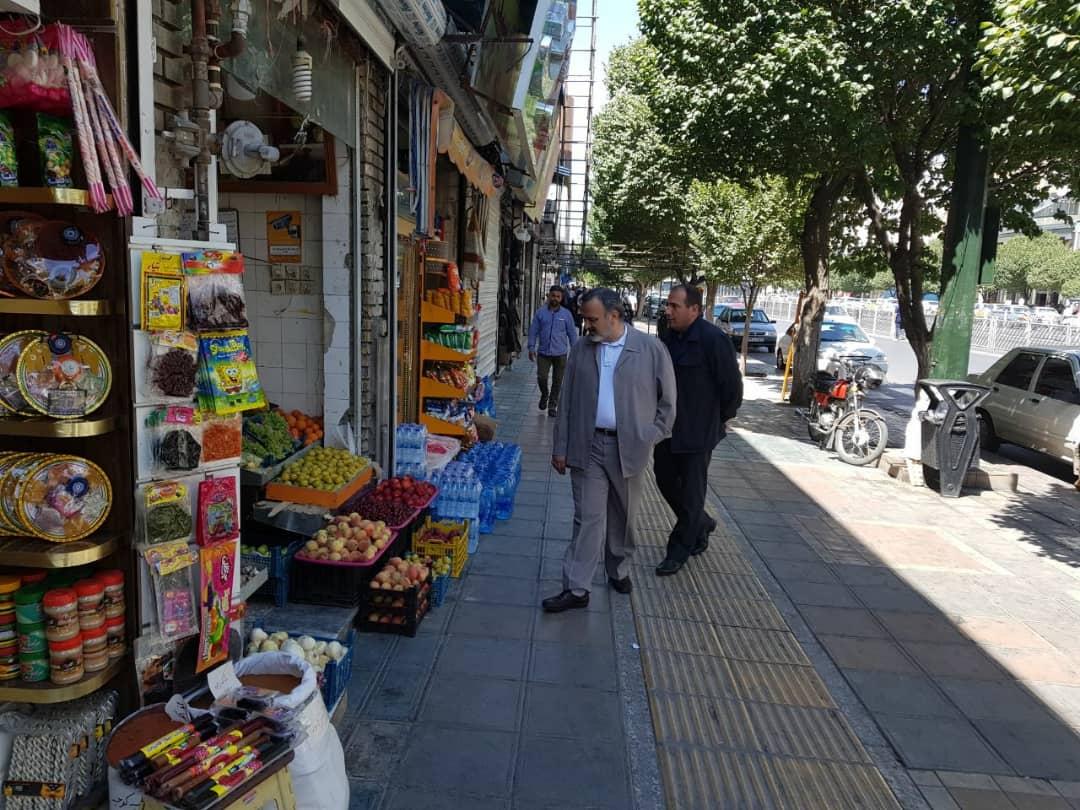 بازدید سرزده استاندار خراسان رضوی از وضعیت بازار و قیمتها در مشهد