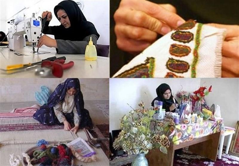 ایجاد بازارچه تولیدات صنایع دستی در جم