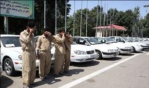کشف ۱۰ دستگاه وسیله نقلیه سرقتی در کرمان