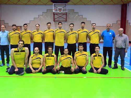 پیروزی مردان والیبال نشسته برابر تیم ژاپن
