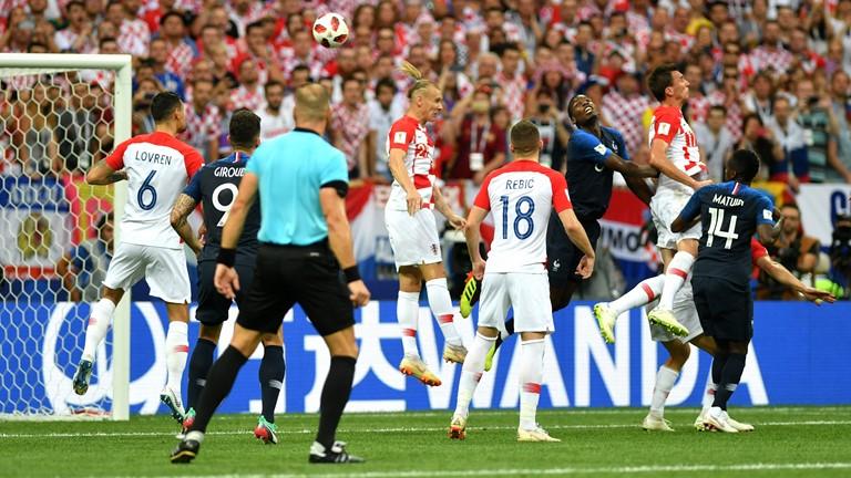 گزارش لحظه به لحظه/ کرواسی 1 - فرانسه 1