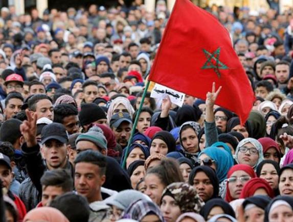 تظاهرات هزاران نفری در مراکش علیه نظام قضایی این کشور