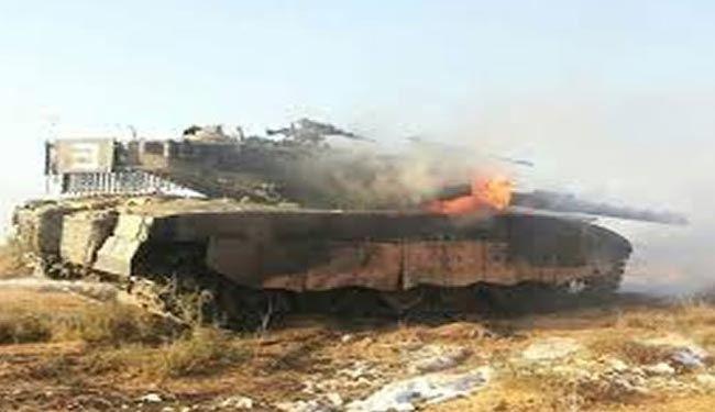 انهدام تانکها و خودروهای نظامی سعودی در الحدیده یمن