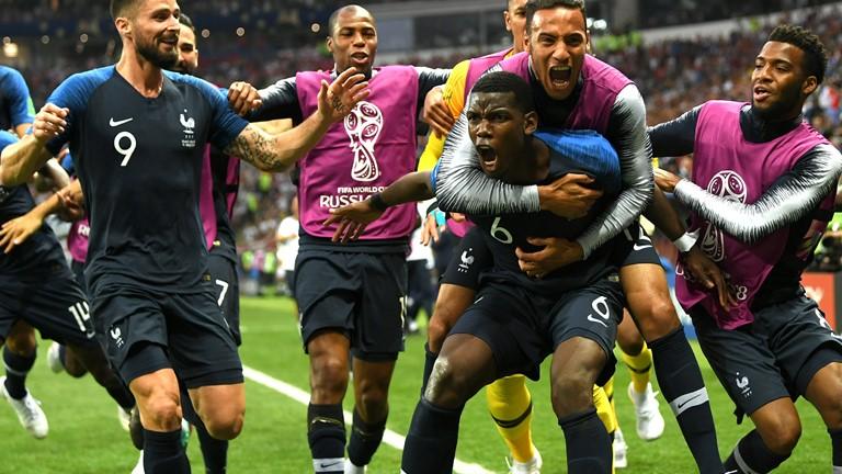 گزارش لحظه به لحظه/ کرواسی 2 - فرانسه 4