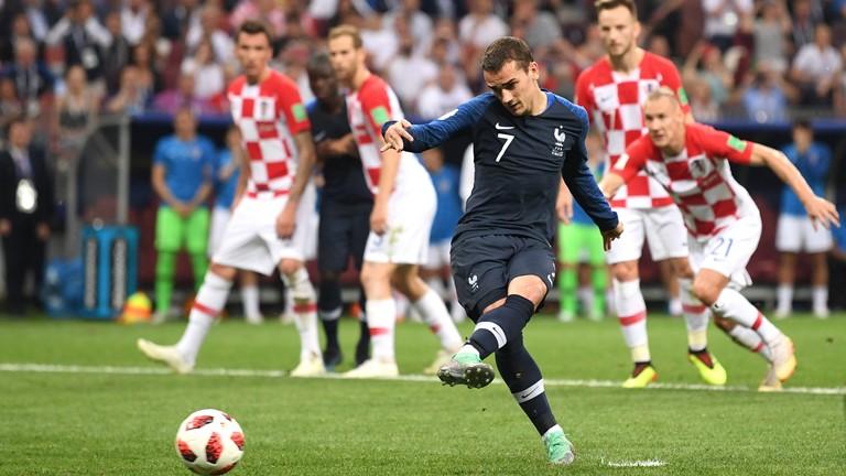 گریزمن بهترین بازیکن دیدار فرانسه و کرواسی شد