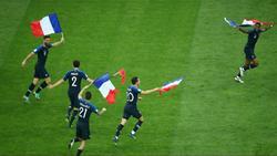 واکنش کاربران به قهرمانی فرانسه در جام جهانی 2018 +تصاویر