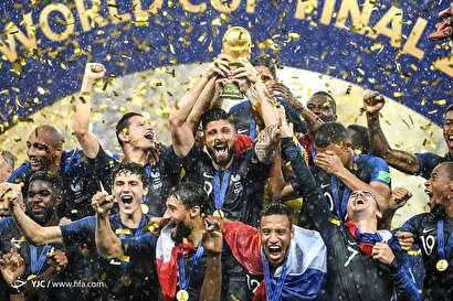 باشگاه خبرنگاران -جشن پایانی جام جهانی فوتبال 2018 روسیه