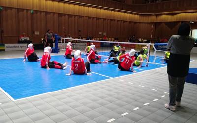 تیم ملی والیبال نشسته بانوان کشورمان از سد اسلوونی گذشت