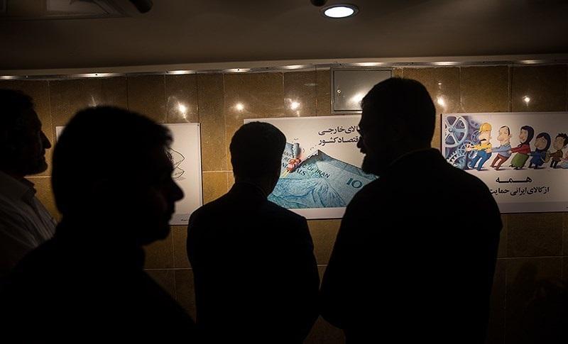 بازدید وزیر ارشاد از نمایشگاههای حوزه هنری +عکس