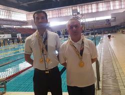 دو شناگر مریوانی چهار نشان زرین طلای رقابتهای پیوند اعضا کشور را کسب کردند