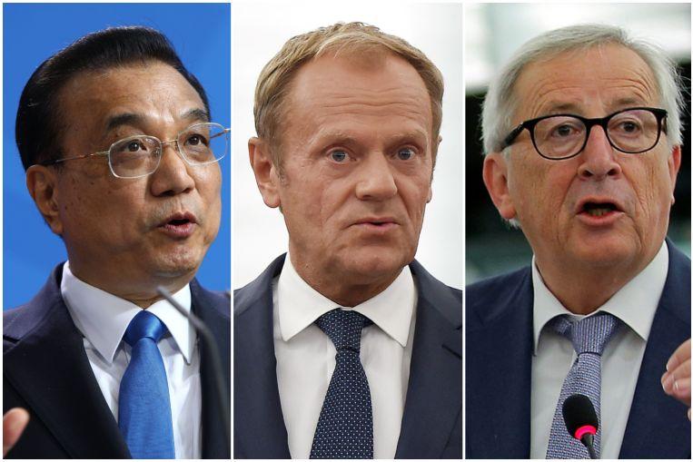درخواست رئیس شورای اتحادیه اروپا از چین، روسیه و آمریکا برای جلوگیری از جنگ تجاری