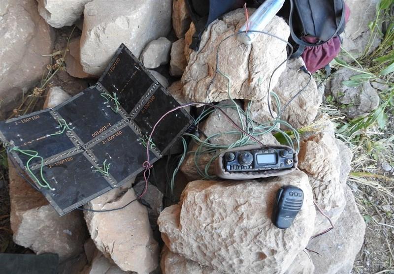 اولین تصاویر از تجهیزات تروریستهای به هلاکت رسیده توسط نیروی زمینی سپاه