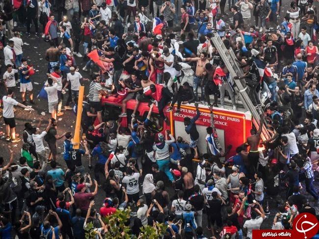 بازداشت بیش از ۵۰۰ فرانسوی طی برگزاری جشن ملی فرانسه