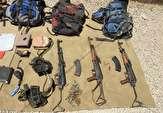 باشگاه خبرنگاران -اولین تصاویر از تجهیزات تروریستهای به هلاکت رسیده توسط نیروی زمینی سپاه