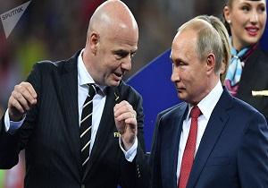 هدیه ویژه پوتین به هواداران فوتبال دنیا