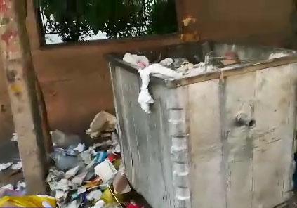 چهره ناخوشایند زباله در معابر پایتخت + فیلم