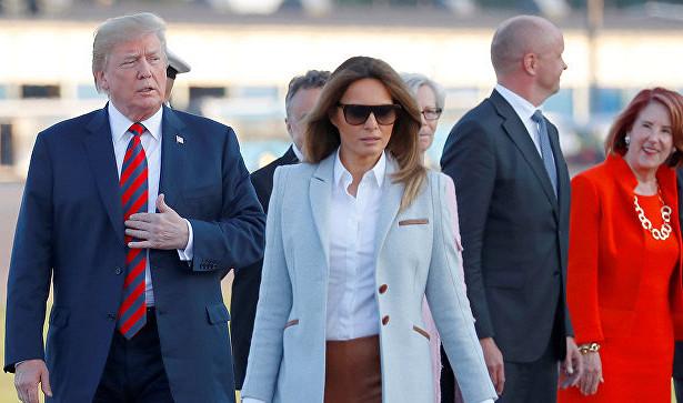 ملانی ترامپ در هلسینکی همه را متعجب کرد