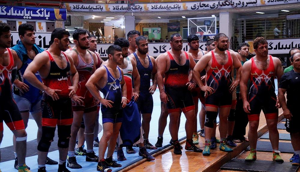 کشتی گیر ضایعه نخاعی در جمع اردونشینان تیم ملی+تصاویر