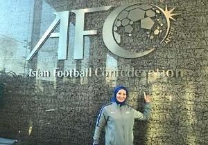 دعوت بانوان همدانی به مسابقات فوتبال قهرمانی آسیا